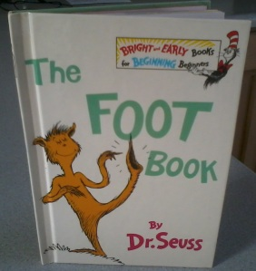 The Foot Book by Dr. Seuss