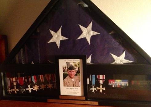 honor flag U.S.A.